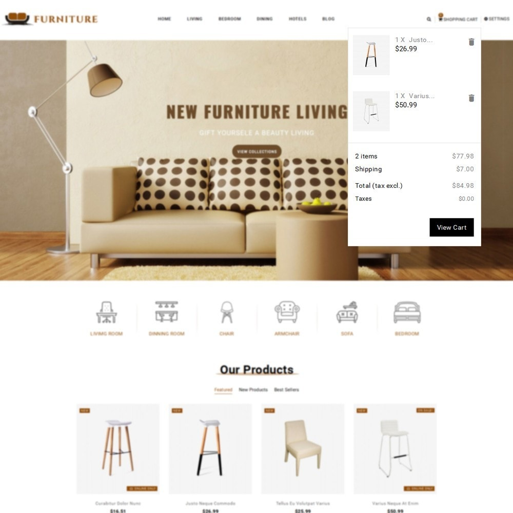 theme - Casa & Jardins - Furniture Store - 7