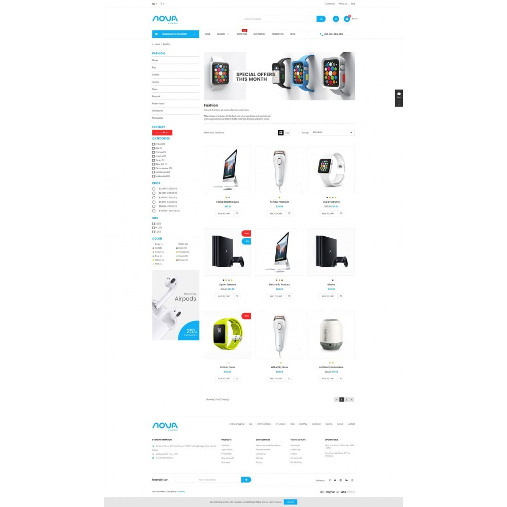 theme - Elektronika & High Tech - Emarket Store - 3