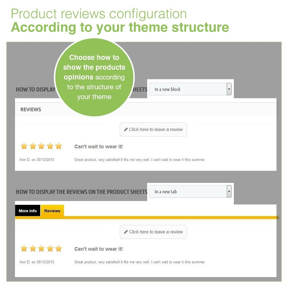 module - Customer Reviews - Store Reviews + Product Reviews + Google Rich Snippets - 17