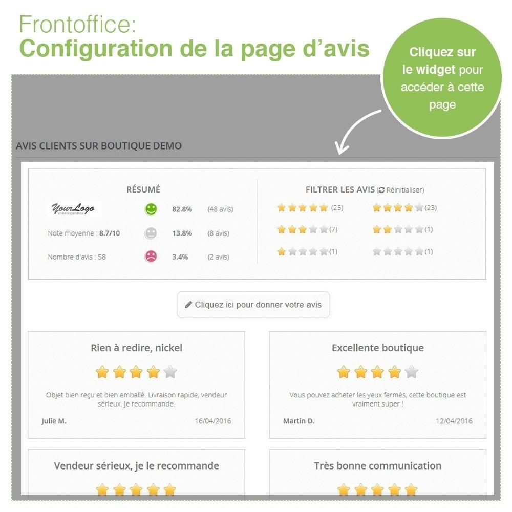 module - Avis clients - Avis Boutique + Avis Produits + Google Rich Snippets - 9