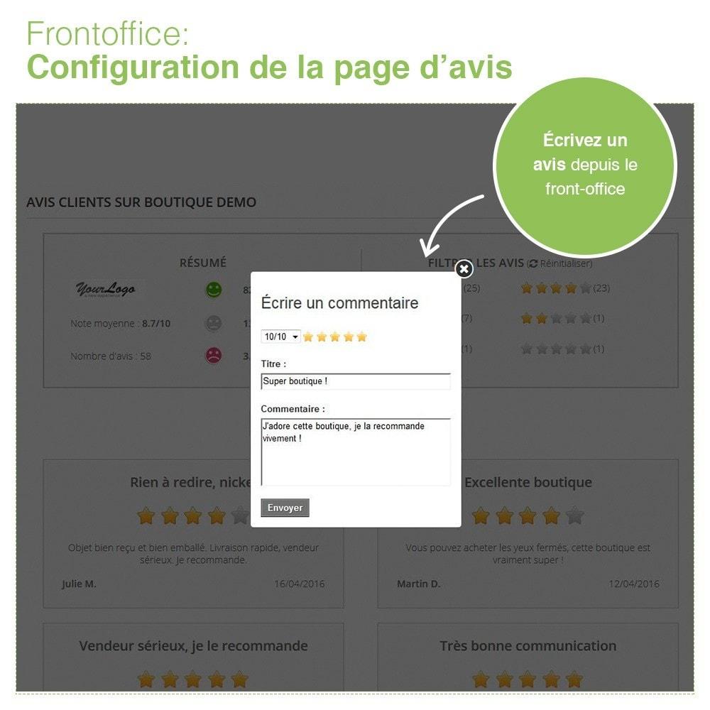 module - Avis clients - Avis Boutique + Avis Produits + Google Rich Snippets - 10