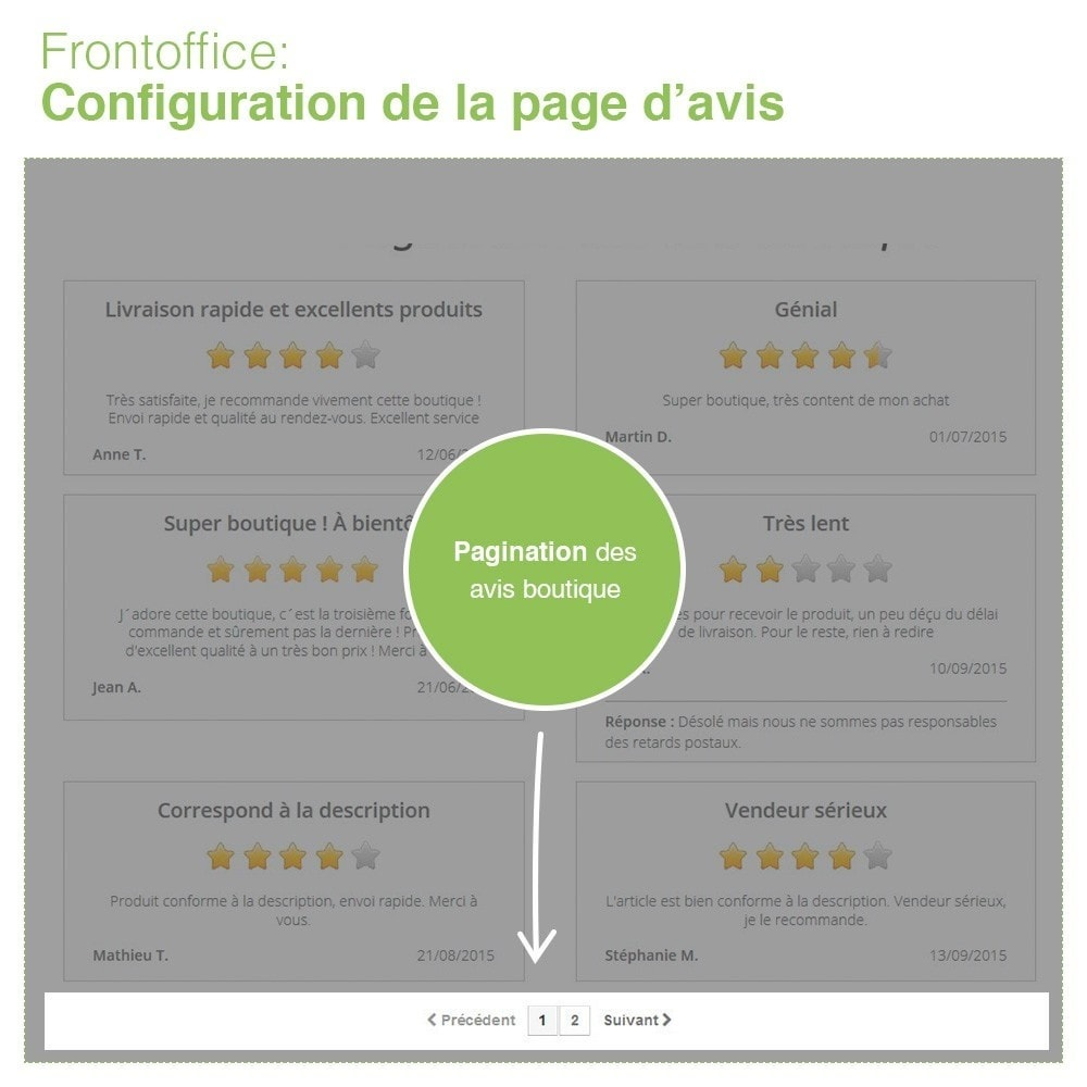 bundle - Avis clients - Confiance - Rassurez vos Clients - 3 Modules - 11