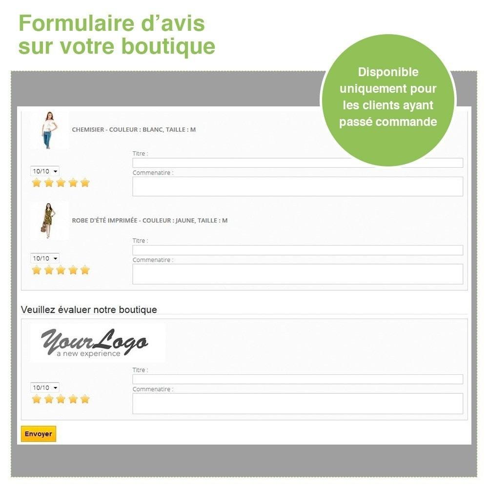 module - Avis clients - Avis Boutique + Avis Produits + Google Rich Snippets - 29