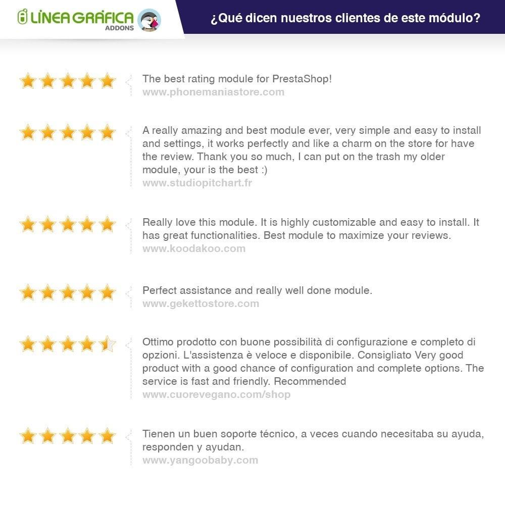 module - Comentarios de clientes - Opiniones Tienda + Opiniones Productos + Rich Snippets - 42