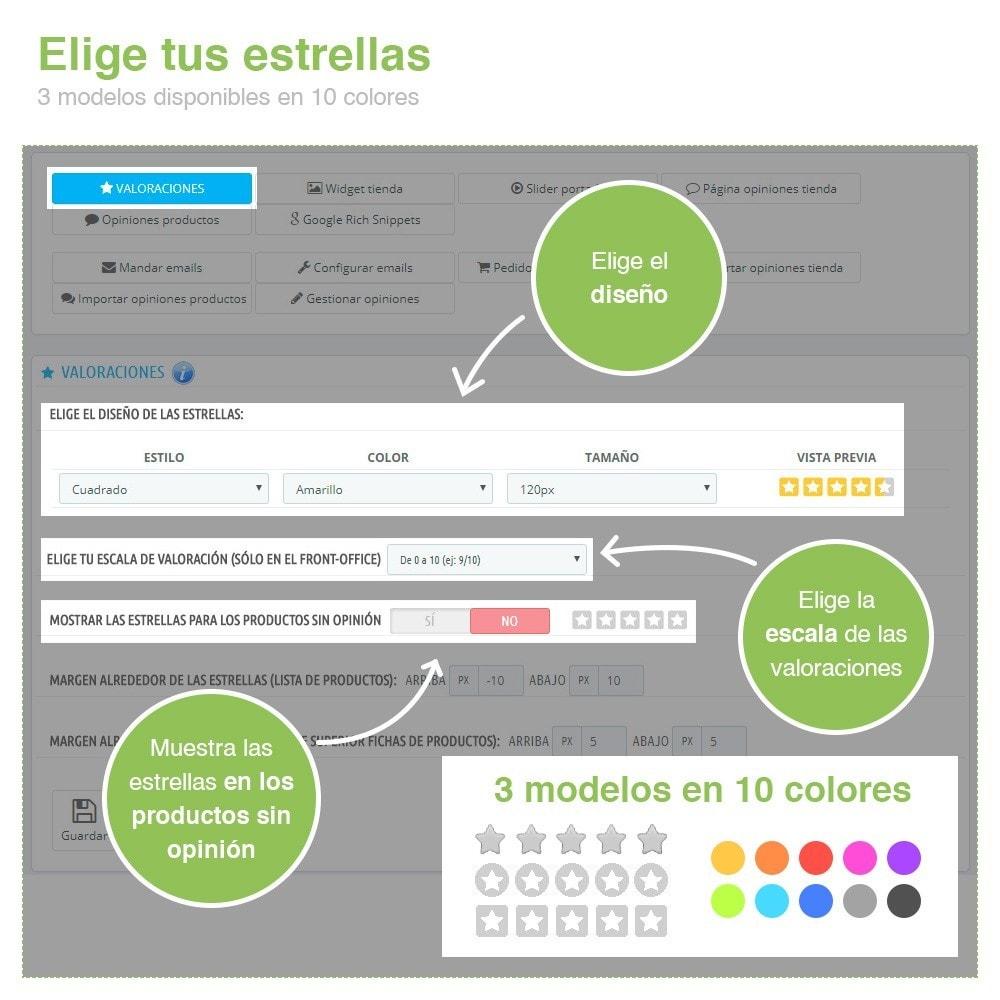 module - Comentarios de clientes - Opiniones Tienda + Opiniones Productos + Rich Snippets - 2