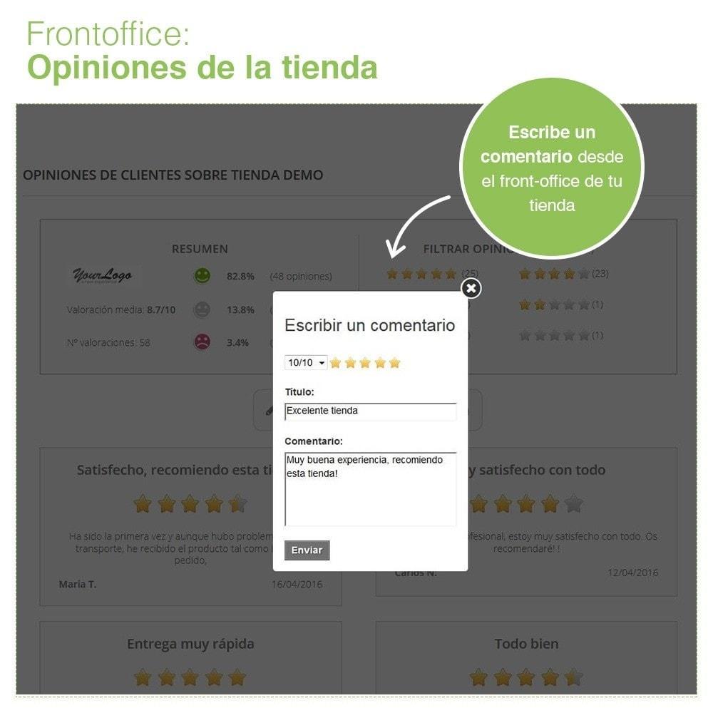 module - Comentarios de clientes - Opiniones Tienda + Opiniones Productos + Rich Snippets - 10