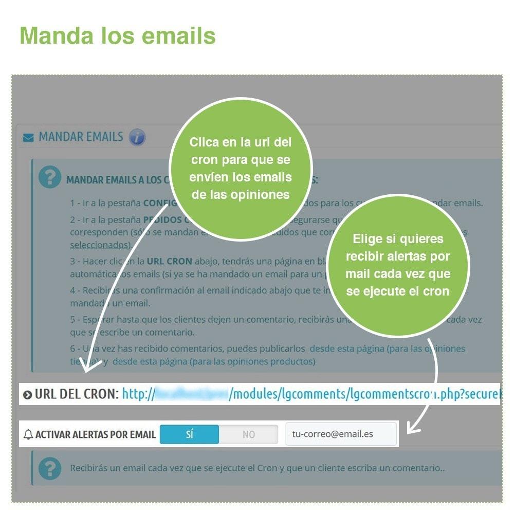 module - Comentarios de clientes - Opiniones Tienda + Opiniones Productos + Rich Snippets - 26