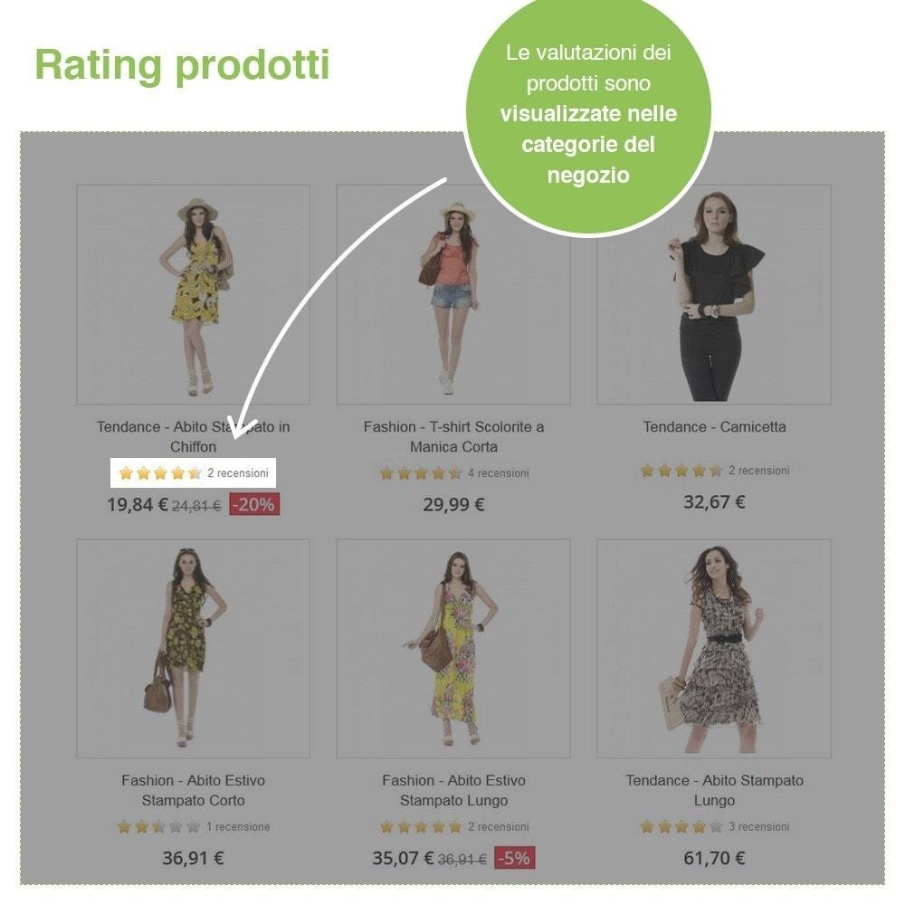 module - Recensioni clienti - Recensioni Negozio + Recensioni Prodotti + Snippets - 18