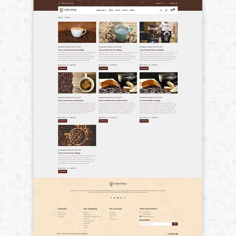theme - Bebidas & Tabaco - Coffee Shop - 6