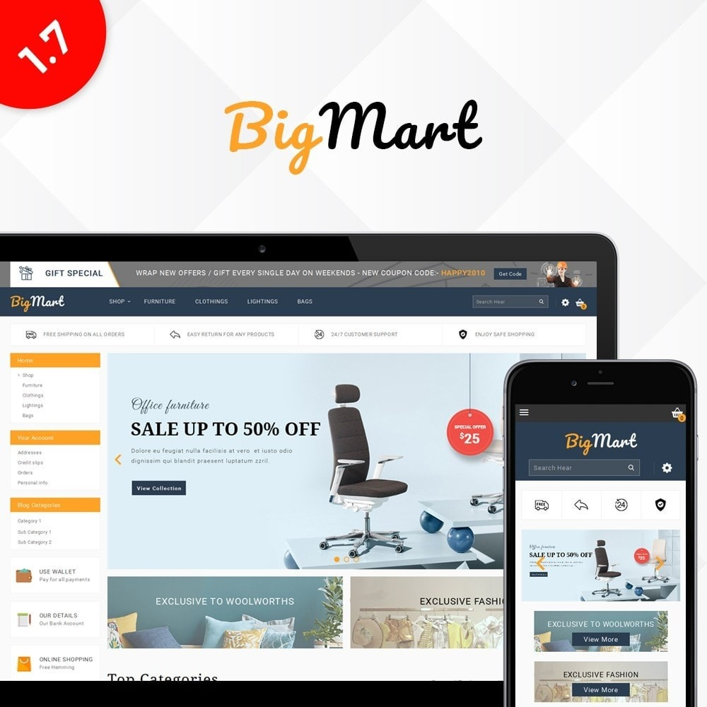 BigMart multi store