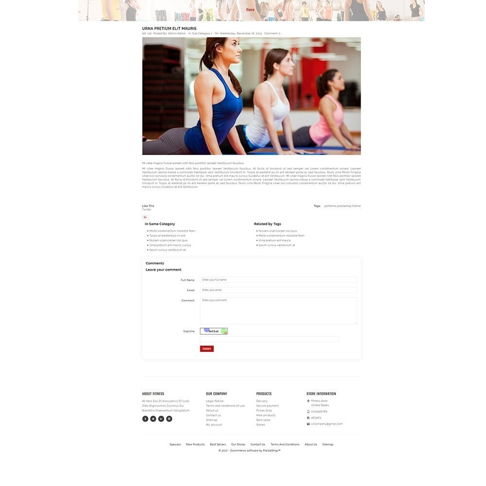 theme - Salud y Belleza - Fitness Store - 8