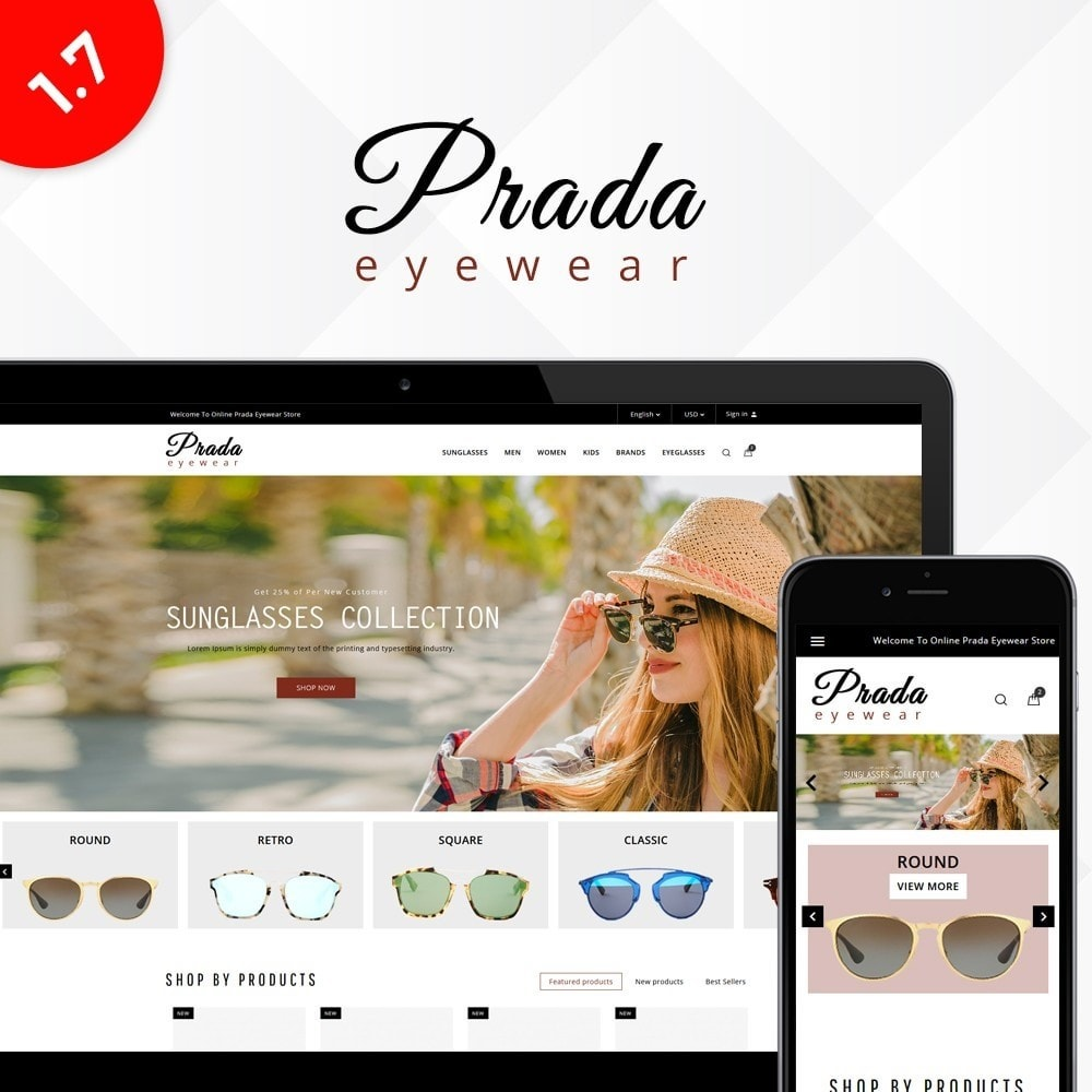 theme - Mode & Schuhe - Prada eyewear sunglasses store - 1