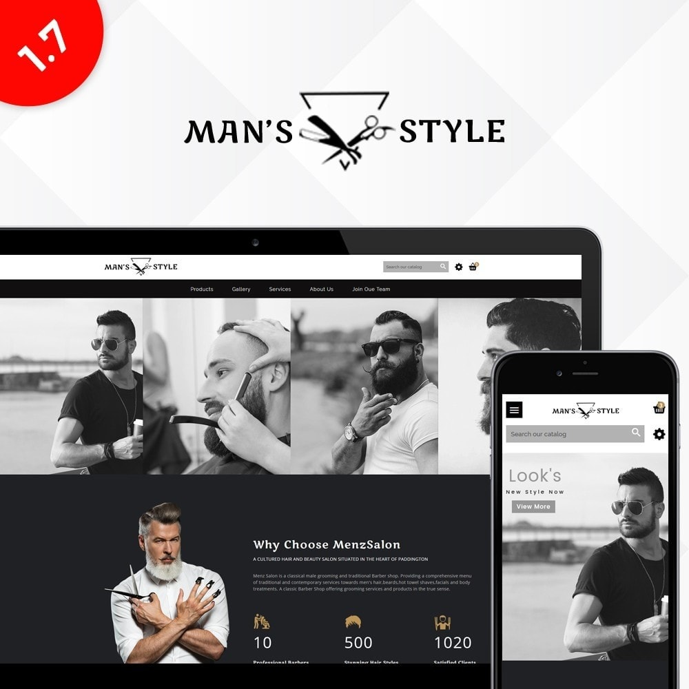 Men's Style Barber Store