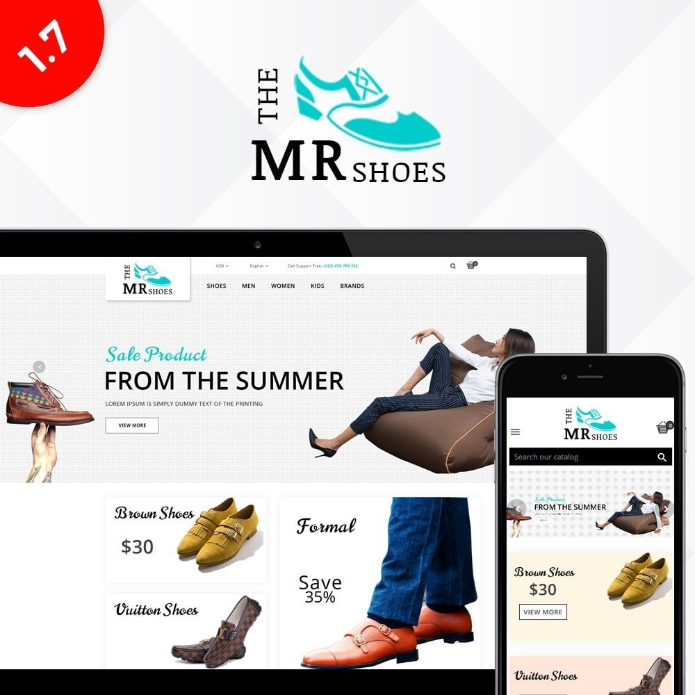 theme - Fashion & Shoes - The MR shoes store - 1