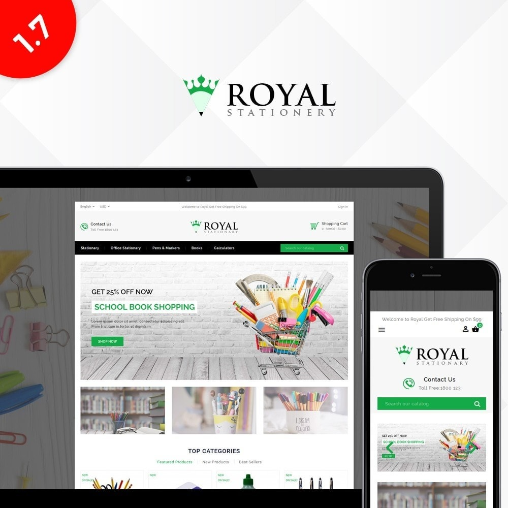 Royal Stationary store
