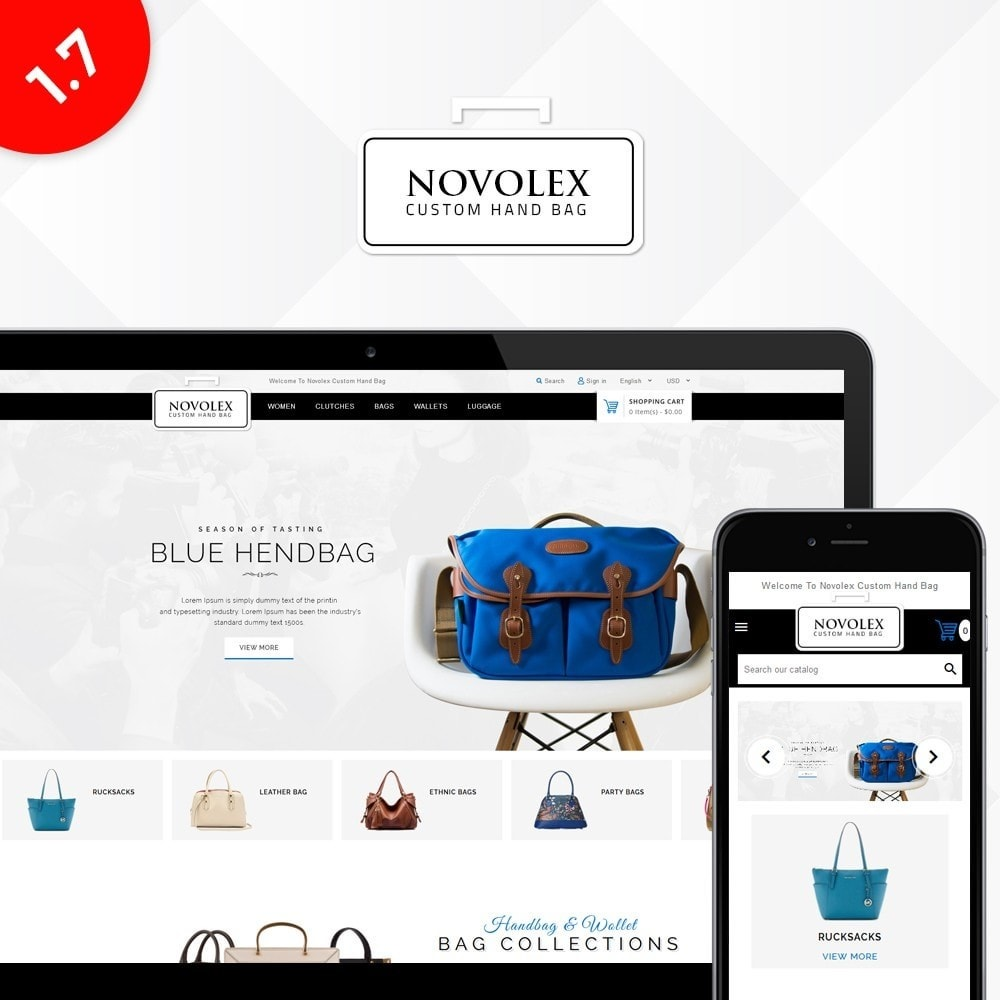 theme - Fashion & Shoes - Novolex Handbag Store - 1