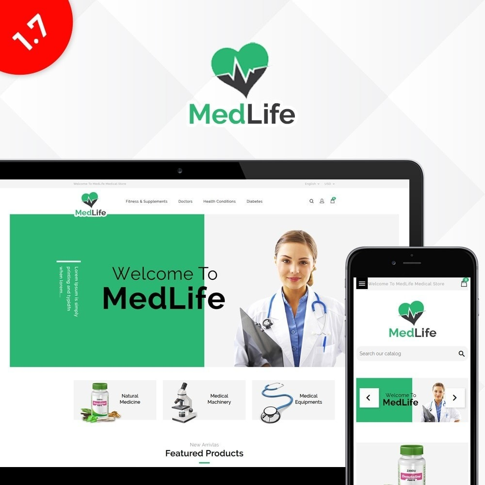 theme - Salute & Bellezza - MedLife Medical Store - 1