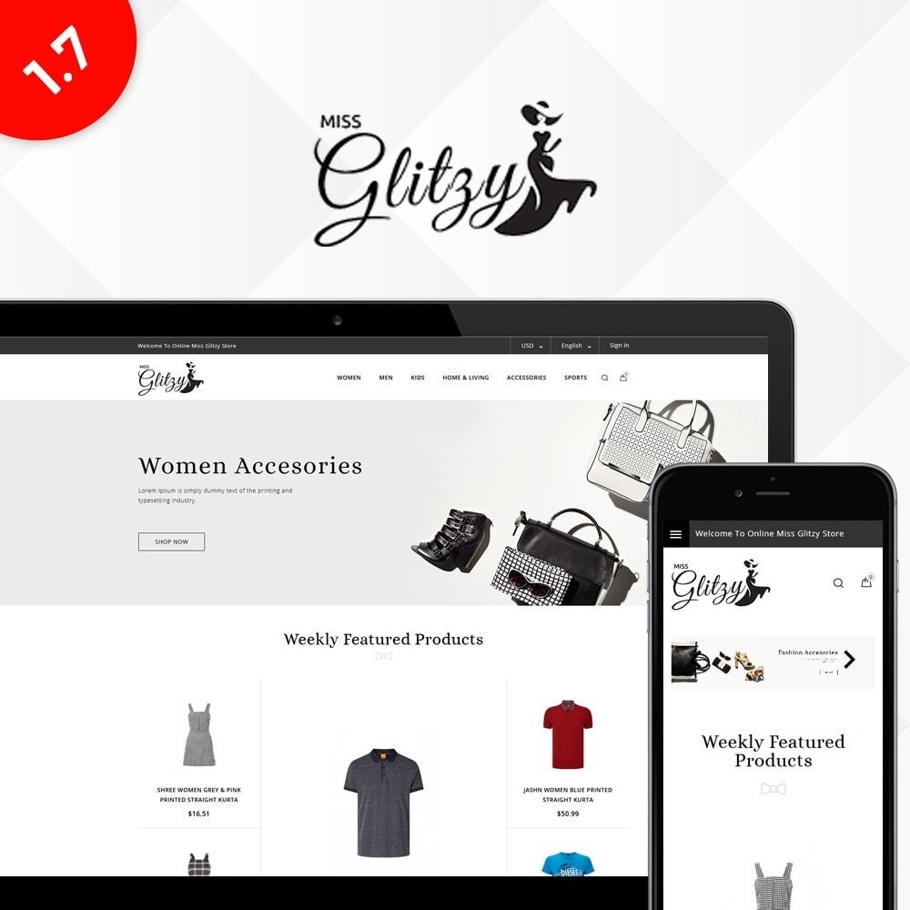 Miss Glitzy Fashion Store