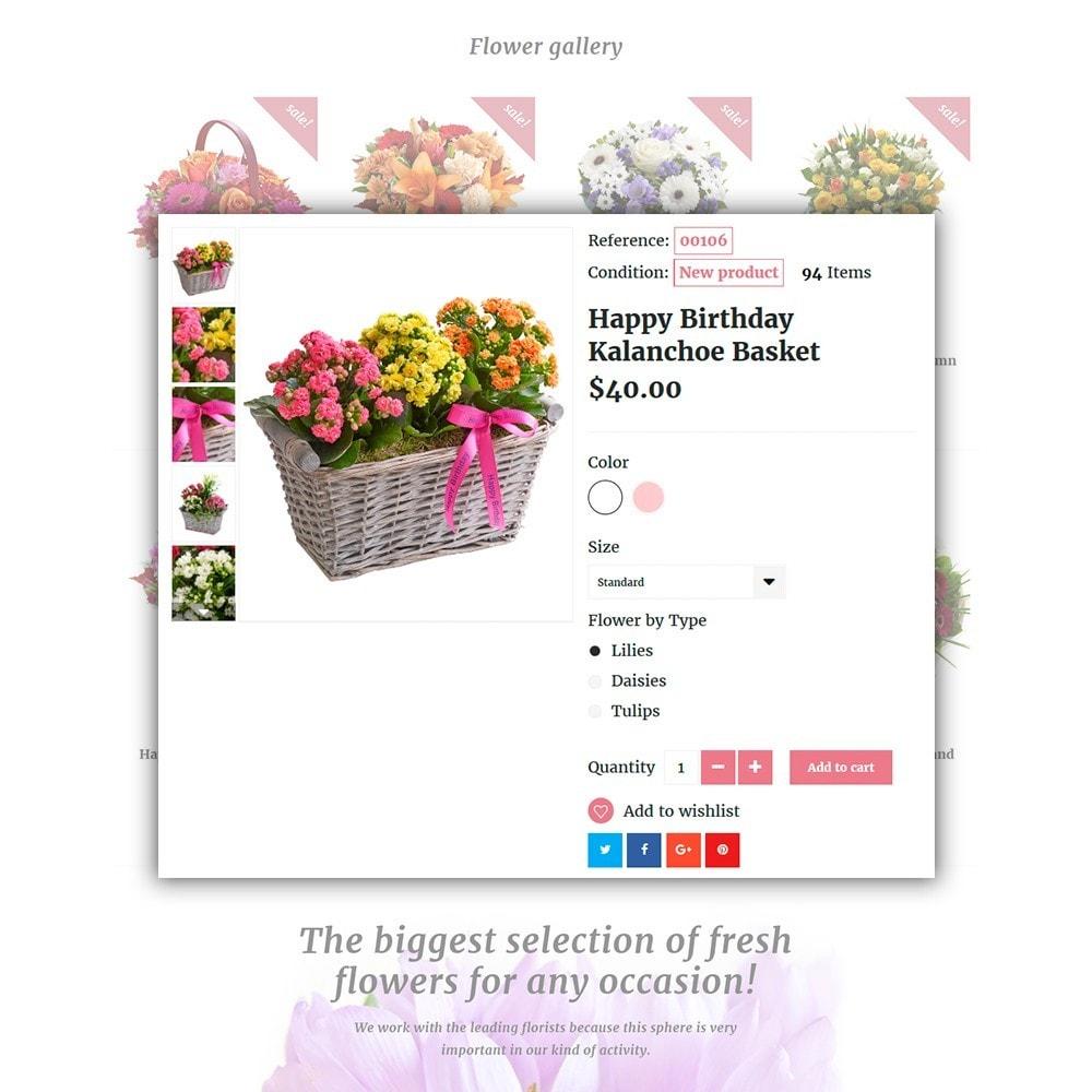 theme - Cadeaux, Fleurs et Fêtes - Pink Flora - 4