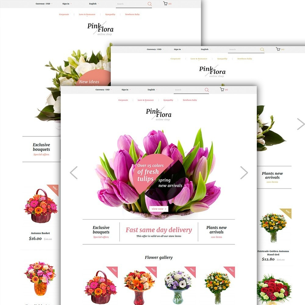 theme - Regali, Fiori & Feste - Pink Flora - 2