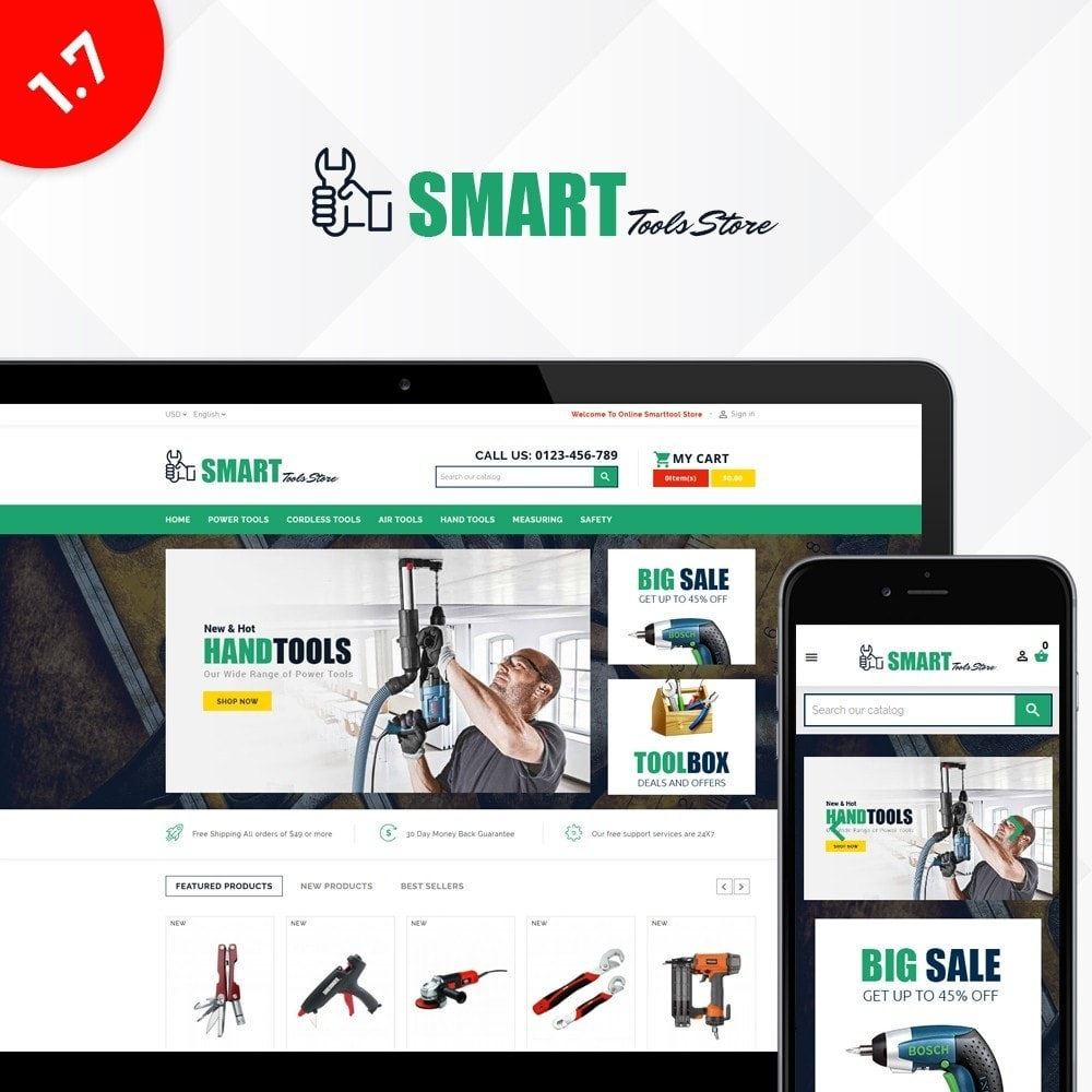 theme - Auto & Moto - Smart Tools Store - 1
