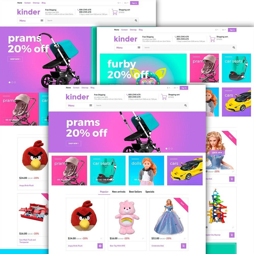 theme - Crianças & Brinquedos - Kinder - 2