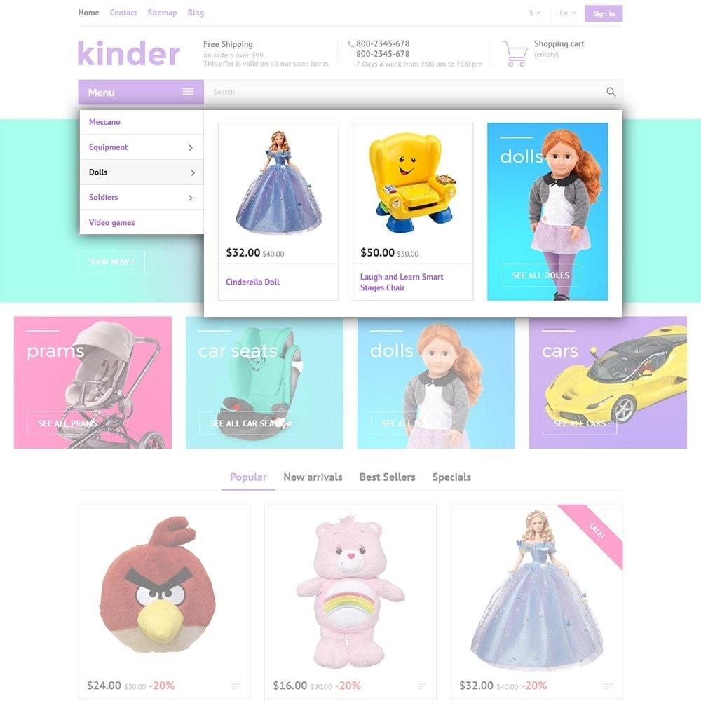 theme - Дети и Игрушки - Kinder - 5