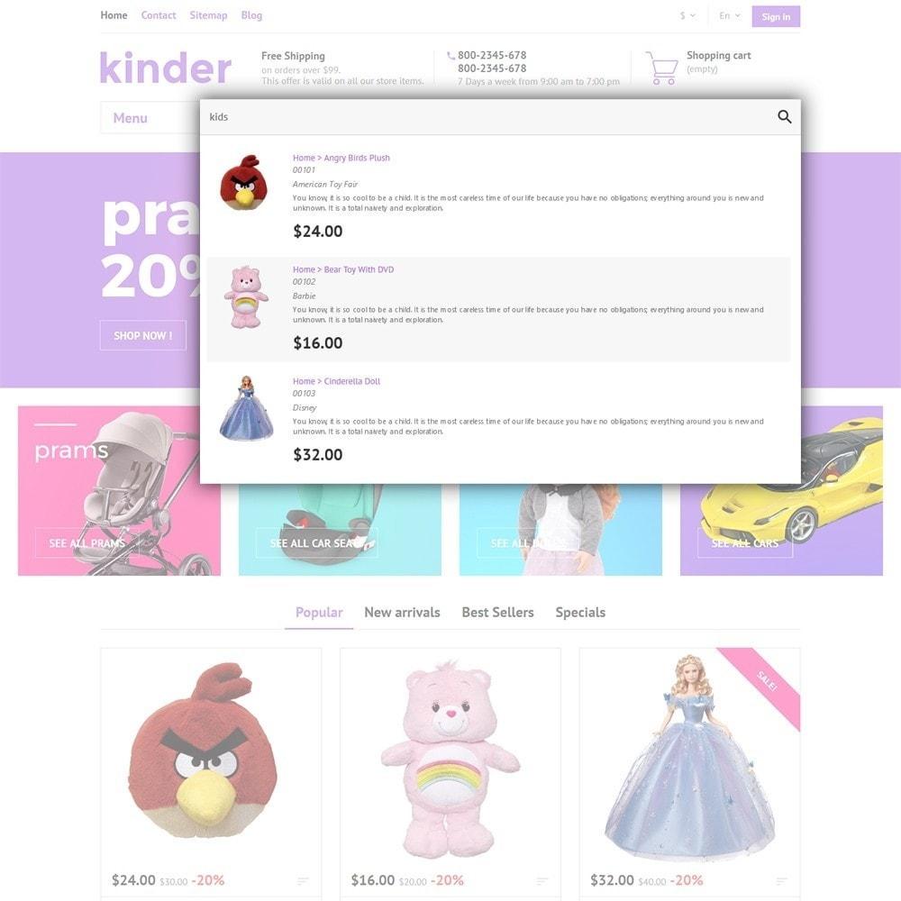 theme - Дети и Игрушки - Kinder - 6
