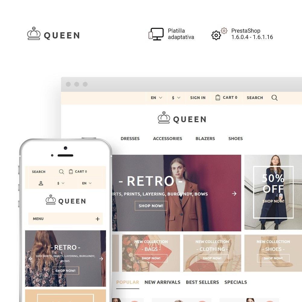 theme - Мода и обувь - Queen - Womens Clothes - 1