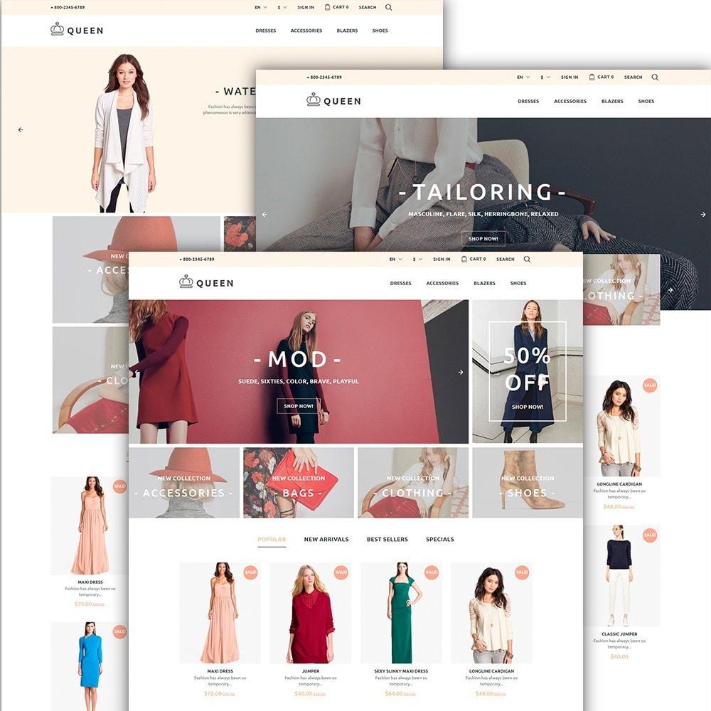 theme - Мода и обувь - Queen - Womens Clothes - 2
