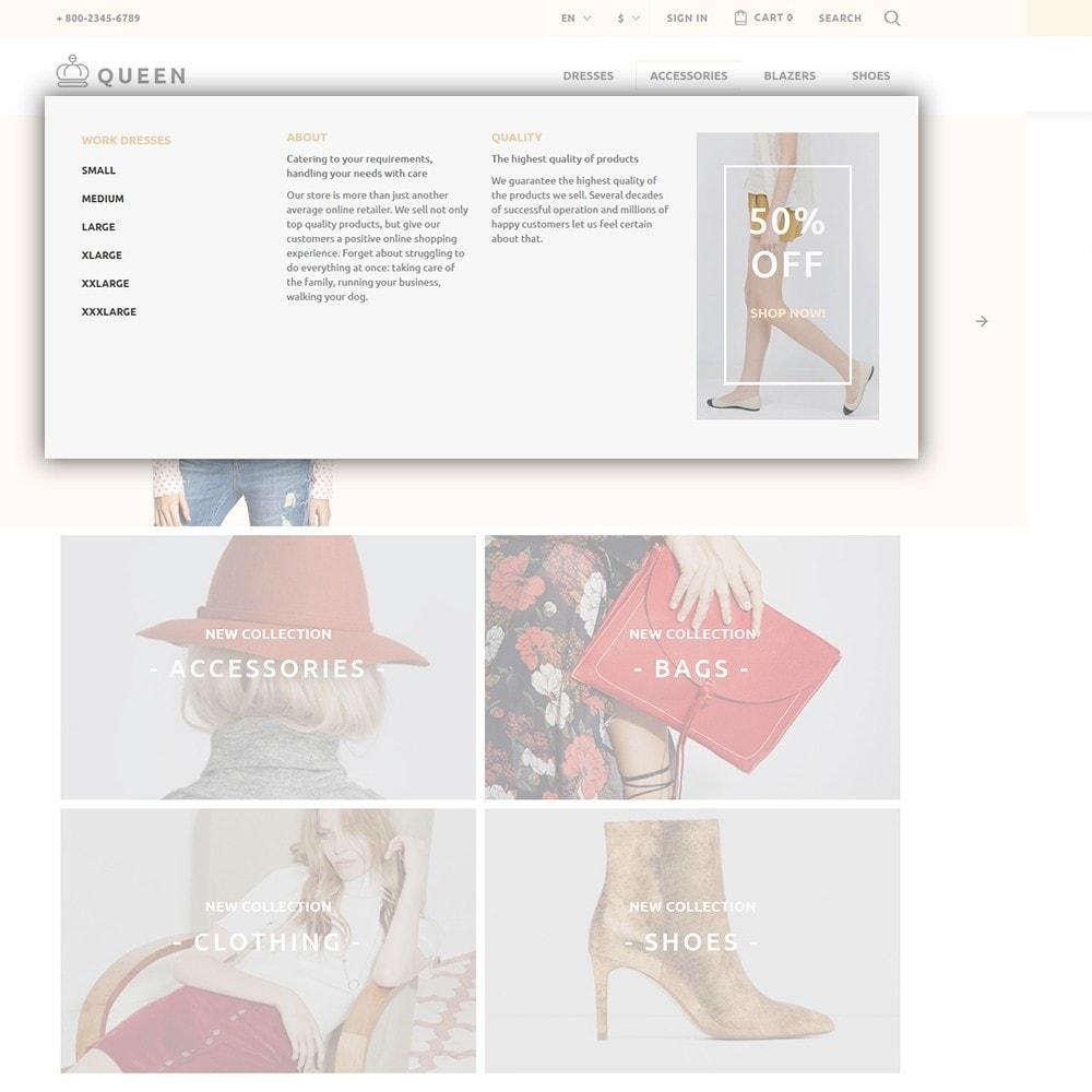 theme - Мода и обувь - Queen - Womens Clothes - 5