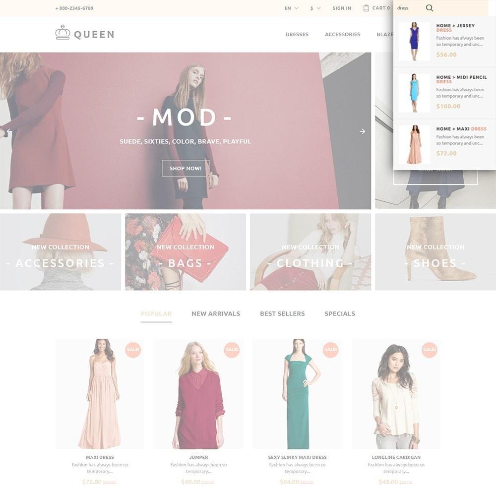 theme - Мода и обувь - Queen - Womens Clothes - 6