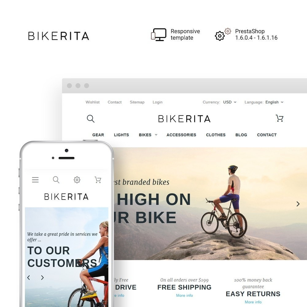 theme - Sports, Activities & Travel - Bikerita - 1