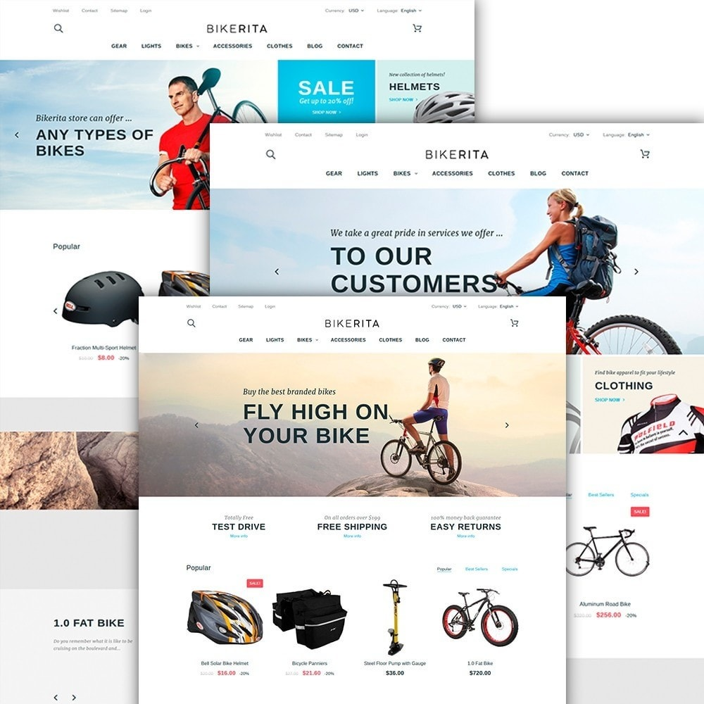 theme - Sports, Activities & Travel - Bikerita - 2