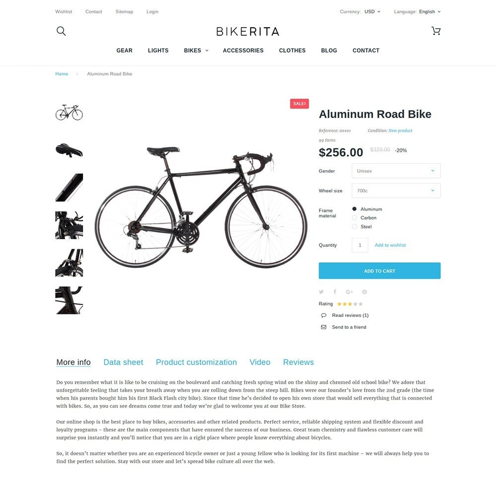 theme - Sports, Activities & Travel - Bikerita - 3