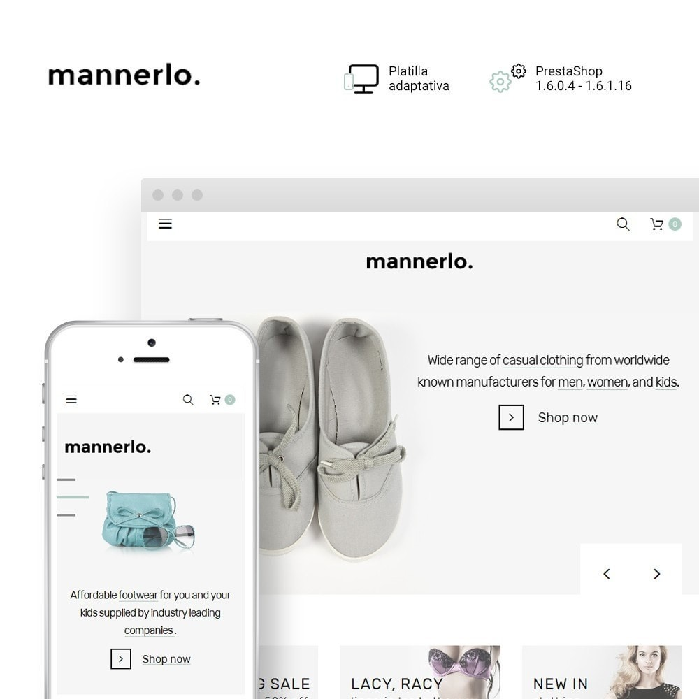 Mannerlo - Apparel Responsive