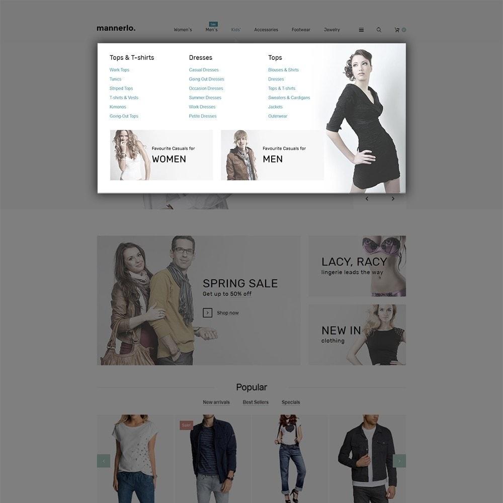 theme - Moda & Calzature - Mannerlo - Apparel Responsive - 5
