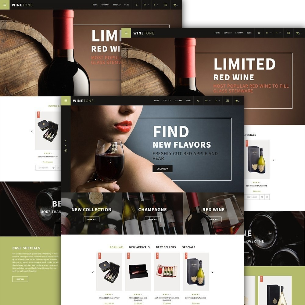 theme - Drink & Tobacco - WineTone - 2