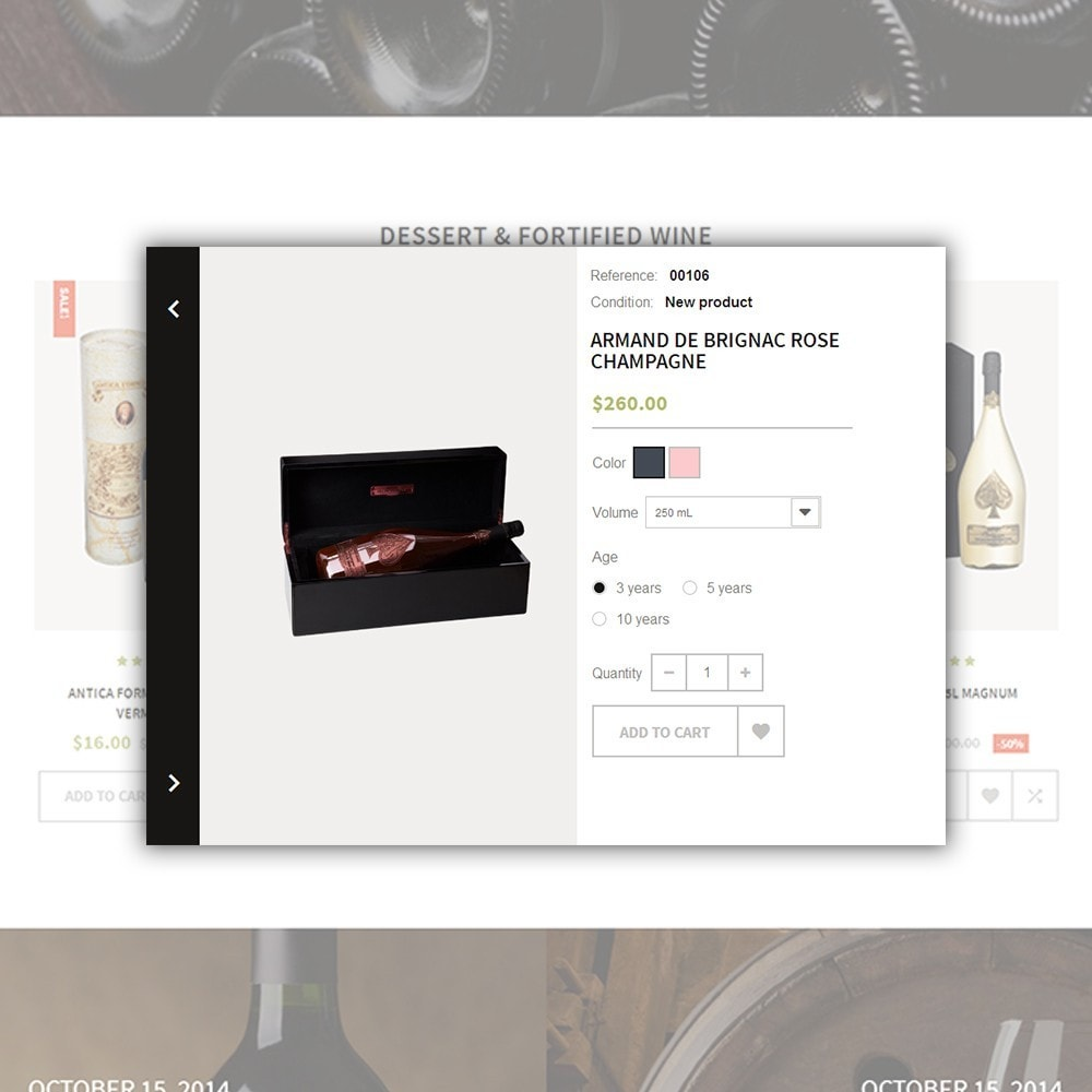 theme - Drink & Tobacco - WineTone - 5