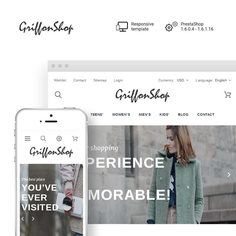 theme - Moda & Calçados - Griffon Shop - Apparel - 1
