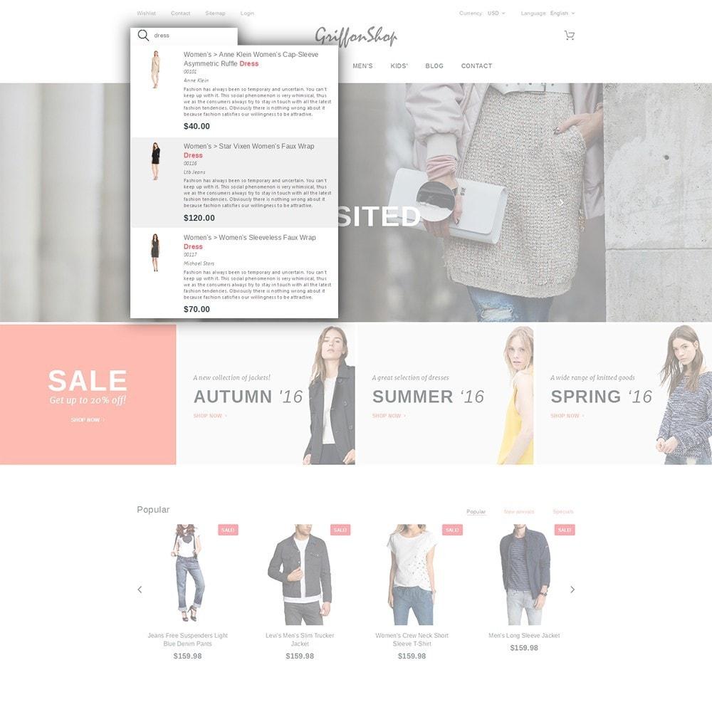 theme - Moda & Calzature - Griffon Shop - Apparel - 7
