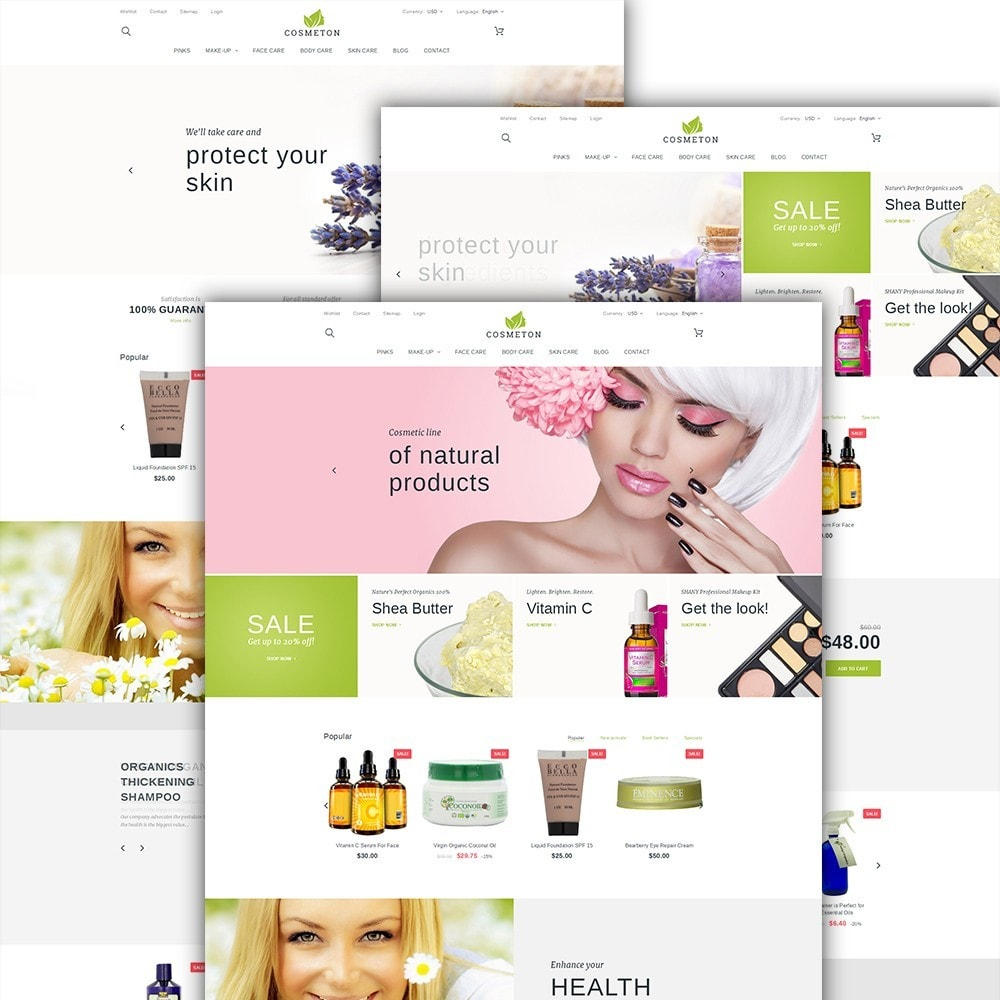 theme - Health & Beauty - Cosmeton - Skin Care - 2