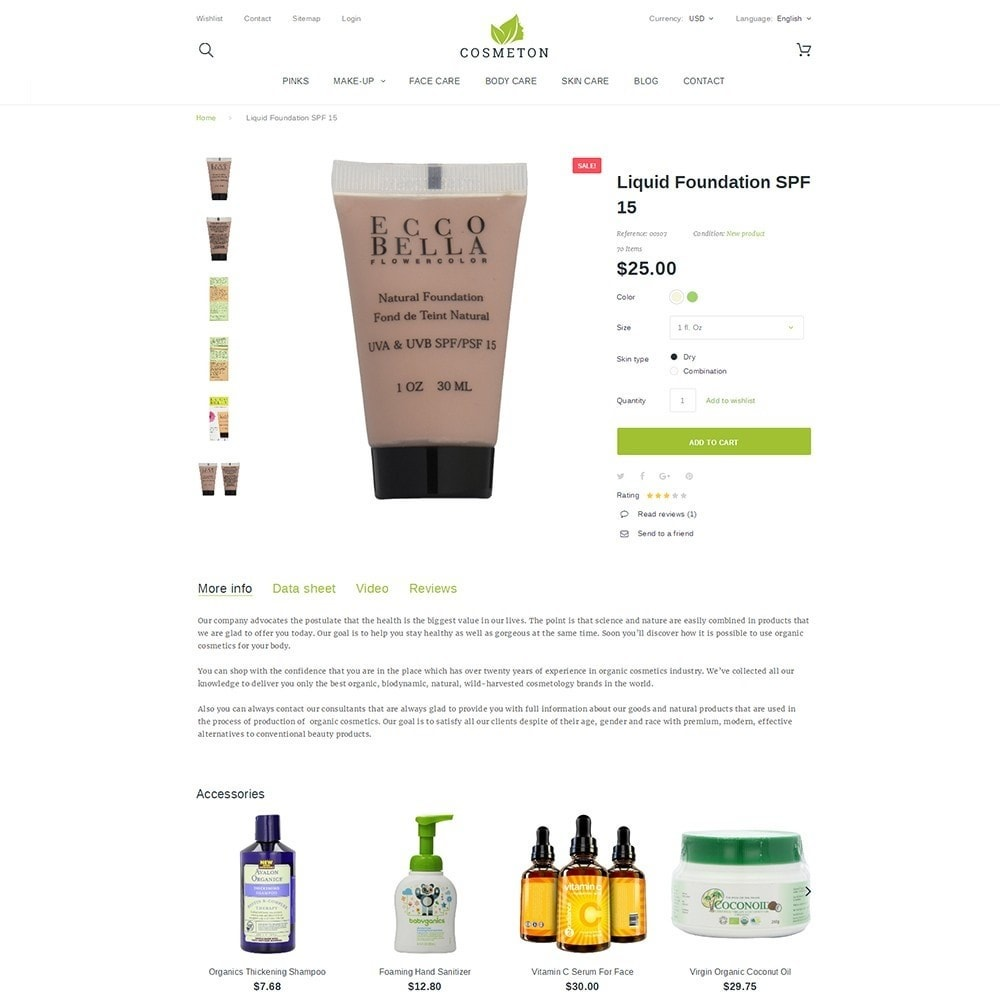 theme - Gezondheid & Schoonheid - Cosmeton - Skin Care - 3