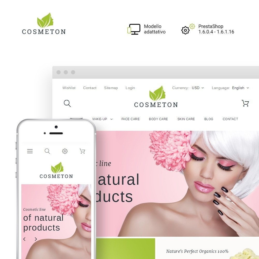 theme - Salute & Bellezza - Cosmeton - Skin Care - 1