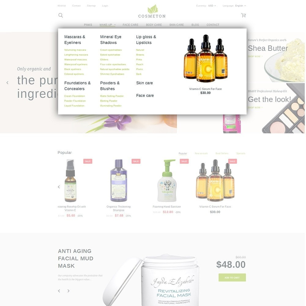 theme - Salute & Bellezza - Cosmeton - Skin Care - 5