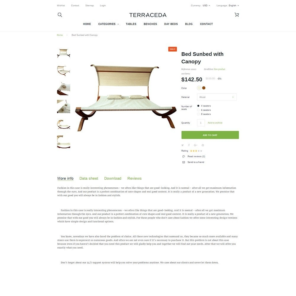 theme - Kultura & Sztuka - Terraceda - Outdoor Furniture - 3