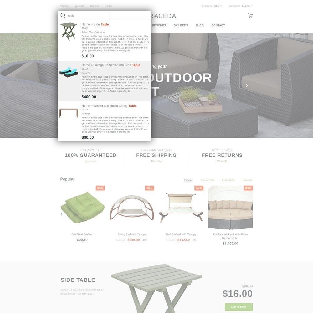 theme - Arte y Cultura - Terraceda - para Sitio de Muebles - 6