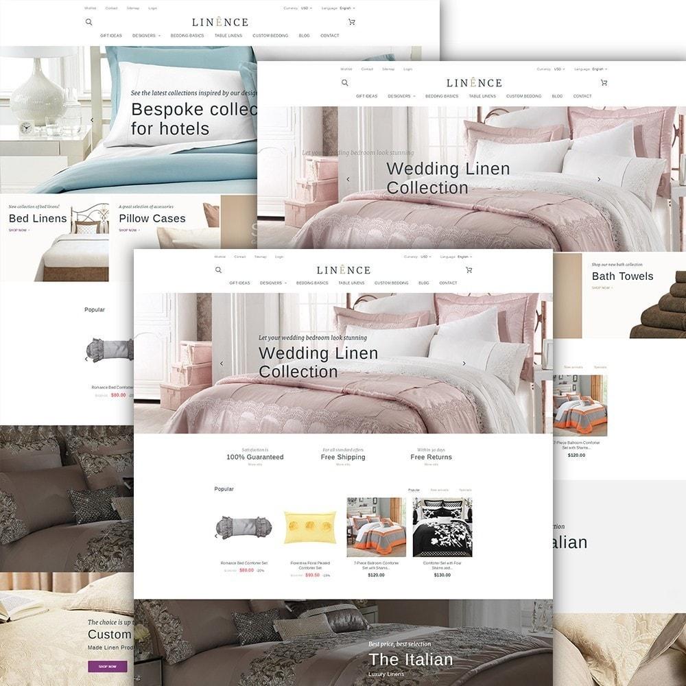 theme - Casa & Jardins - Linence - Bed Linen - 2