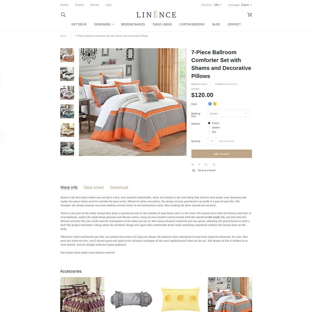 theme - Дом и сад - Linence - Bed Linen - 3
