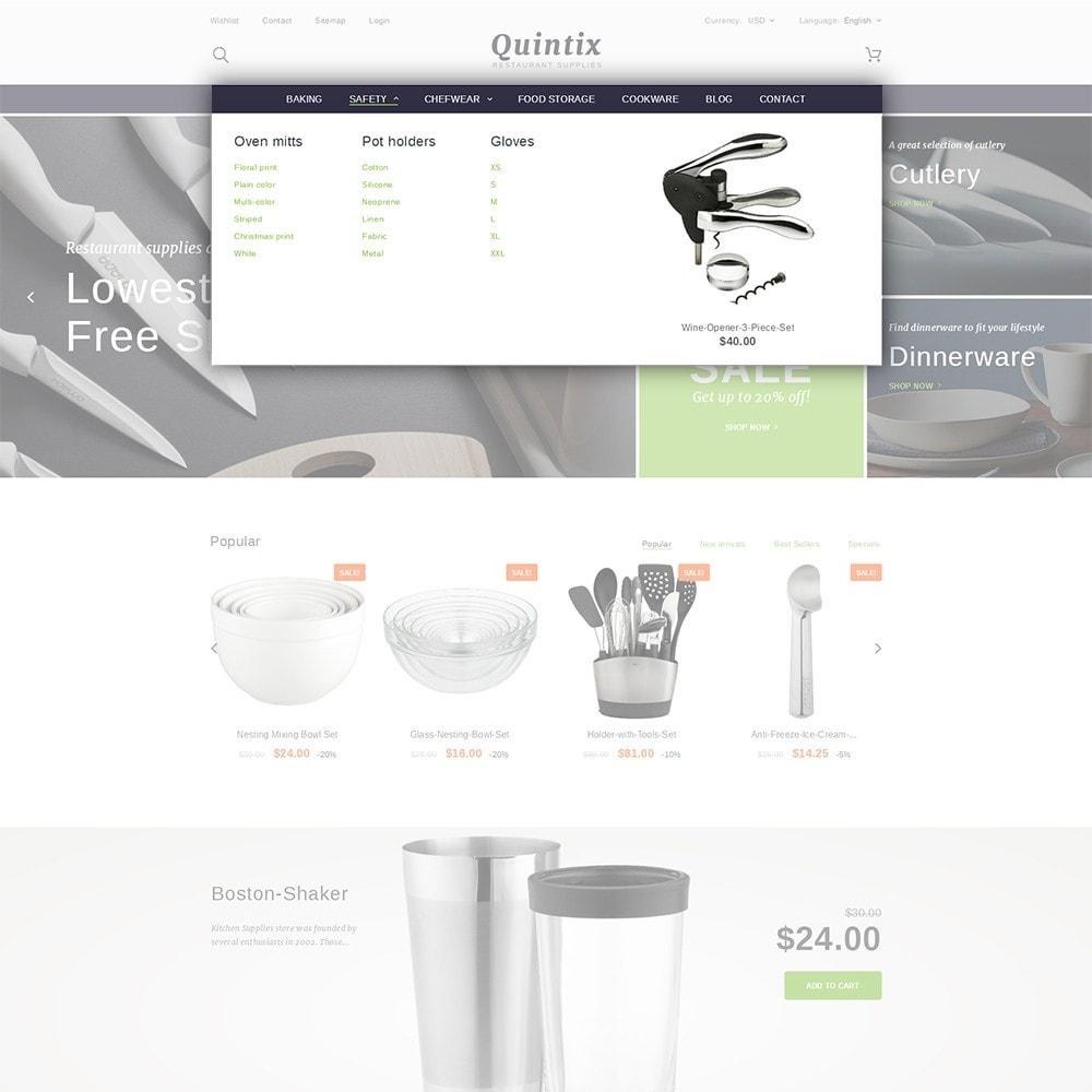 theme - Искусство и Культура - Quintix - Restaurant Supplies - 5